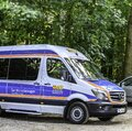 Van to transport for the fulfillment of last wishes before death Royalty Free Stock Photo