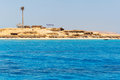 Mahmya island with turquoise water of red sea egypt Stock Photo