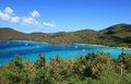 Maho bay in st john Fotografia Stock