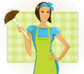 Maid Stock Photography