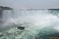 Maid Of The Mist, Horseshoe Fall Niagara Falls Ontario Canada Royalty Free Stock Photo
