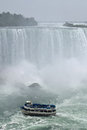 Maid Of The Mist, Horseshoe Fall Niagara Falls Ontario Canada Royalty Free Stock Photo