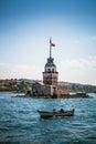 Maiden s tower istanbul turkey cruise in bosphorus Stock Photo