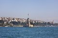 Maiden s tower leander s tower in istanbul turkey Royalty Free Stock Photos