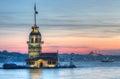 Maiden tower Istanbul Turkey