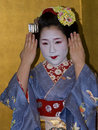 Maiko, Kyoto, Japan Royalty Free Stock Photo