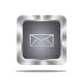 Mail button. Royalty Free Stock Photo