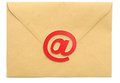 Mail with email symbol Royalty Free Stock Photo