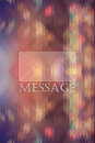 Mail icon on colored abstract triangle Background Royalty Free Stock Photo