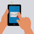 Mail icon design vector illustration eps graphic Stock Photo