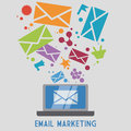 Mail icon design vector illustration eps10 graphic Royalty Free Stock Photo