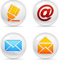 Mail Icons. Royalty Free Stock Photo