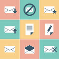 Mail icons this is file of eps format Royalty Free Stock Image