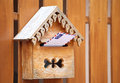 Mail in mailbox Royalty Free Stock Photo