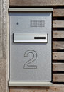 Mailbox and intercom system Royalty Free Stock Photo