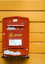Mailbox in Norwegen Stockbilder