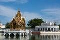 A main Bang Pa-in palace Royalty Free Stock Images