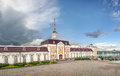 The main body of the Artillery court in the Kazan Kremlin. Kazan Royalty Free Stock Photo