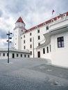 Main courtyard of Bratislava Castle, Slovakia
