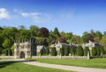 Main Entrance at Lynhydrock Castle Royalty Free Stock Photo
