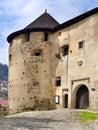 Main entrance to the Old Castle (Starý Zámok)