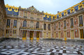 Main entrance of Versailles Palace Royalty Free Stock Photo