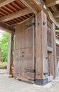 Main Gate of Kubota Castle, Akita, Japan Royalty Free Stock Photo