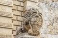 Main gate in mdina malta city access to Royalty Free Stock Photography