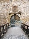Main gate of the Trencin castle, Slovakia