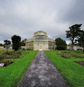 Main glasshouse of the national botanic gardens in dublin ireland built when previous was damaged a storm Royalty Free Stock Photography