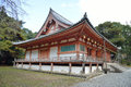 The main hall of Daigoji temple Royalty Free Stock Photo