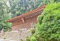 Main Hall Honden (1067) of Ujigami Shinto Shrine in Uji, Japan. Royalty Free Stock Photo