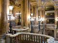 Main hall interior of palais garnier in paris france Stock Photo