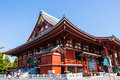 The main hall kannondo hall at senso ji temple in tokyo japan oldest Royalty Free Stock Photography