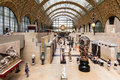 Main hall of the Orsay Museum. Paris, France