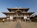 Main Hall of Todaiji Temple in Nara, Japan Royalty Free Stock Photo