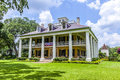 Main house of houmas house darrow usa july plantation in darrow usa the also known as burnside plantation and currently Stock Images