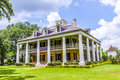 Main house of houmas house plantation and gardens darrow usa july in darrow usa the also known as burnside currently Stock Photography