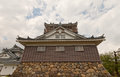 Main keep of Echizen Ohno castle in Ohno, Japan Royalty Free Stock Photo