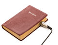 Main source of knowledge or wisdom wire plugged in to the bible like trying to get all out it the word god as intelligence and Royalty Free Stock Photos