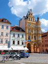 Main square, Ceske Budejovice, Czech Republic Stock Photo