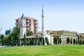 Main square of Tirana Royalty Free Stock Photo