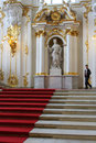 Main Staircase of the Hermitage Winter Palace Royalty Free Stock Photography