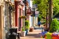 Main Street north Royalty Free Stock Photo