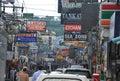 Main street in pattaya thailand Stock Image