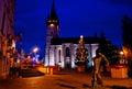 Main Street in Presov, Slovakia