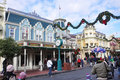 Main Street of Walt Disney World Stock Image
