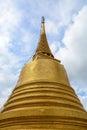 Golden Stupa at Wat Saket in Bangkok, Thailand Royalty Free Stock Photo