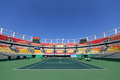 Main tennis venue Maria Esther Bueno Court  of the Rio 2016 Olympic Games at the Olympic Tennis Centre Royalty Free Stock Photo