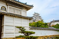 Main tower of the Himeji Castle in Japan